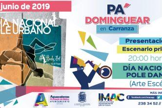 """Checa aquí las actividades del Programa """"Pa' Dominguear en Carranza"""""""