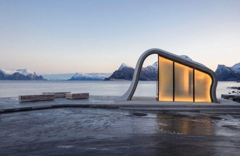 Este es el baño público más hermoso del mundo