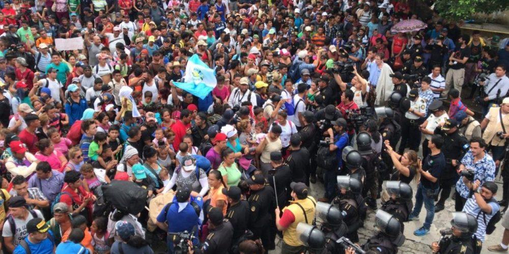 Los migrantes y la ley