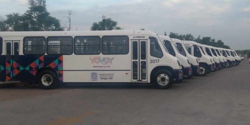 Vandalizan camiones urbanos en colonias conflictivas de Aguascalientes