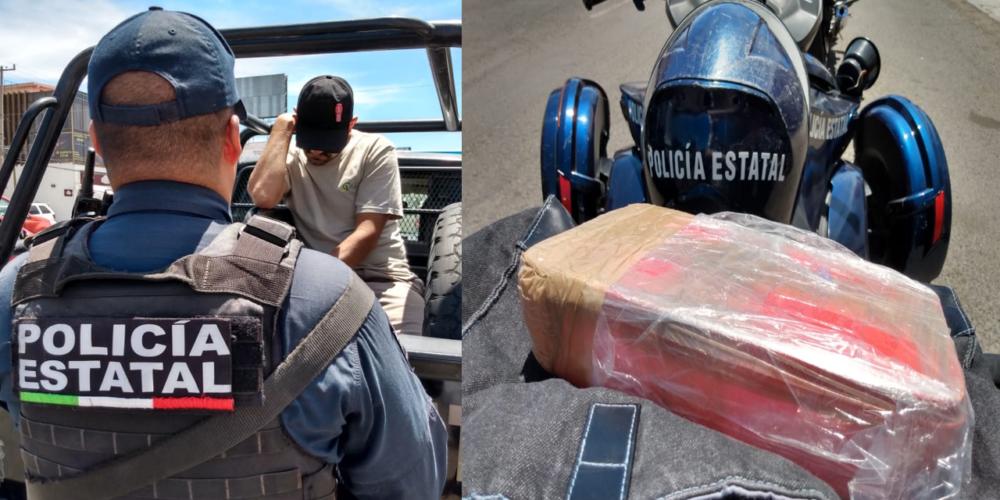 Golpe al narco: SSPE asegura más de un kilo de crystal en Aguascalientes