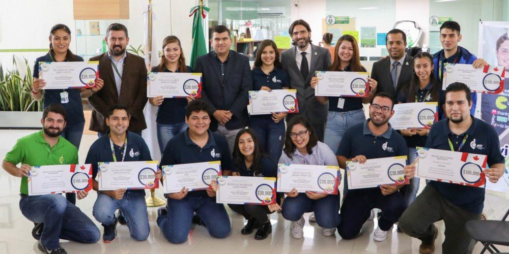 Exhortan a estudiantes a aprovechar oportunidades de movilidad internacional