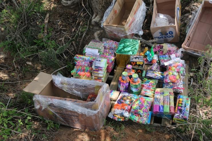 En Aguascalientes destruyen material explosivo y pirotécnico