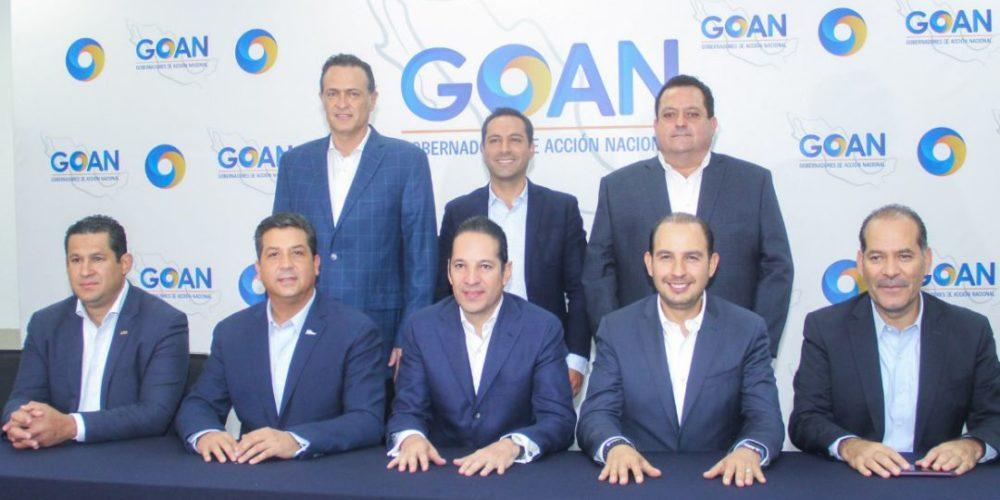 La GOAN se solidariza con alcaldes que protestaron en Palacio Nacional