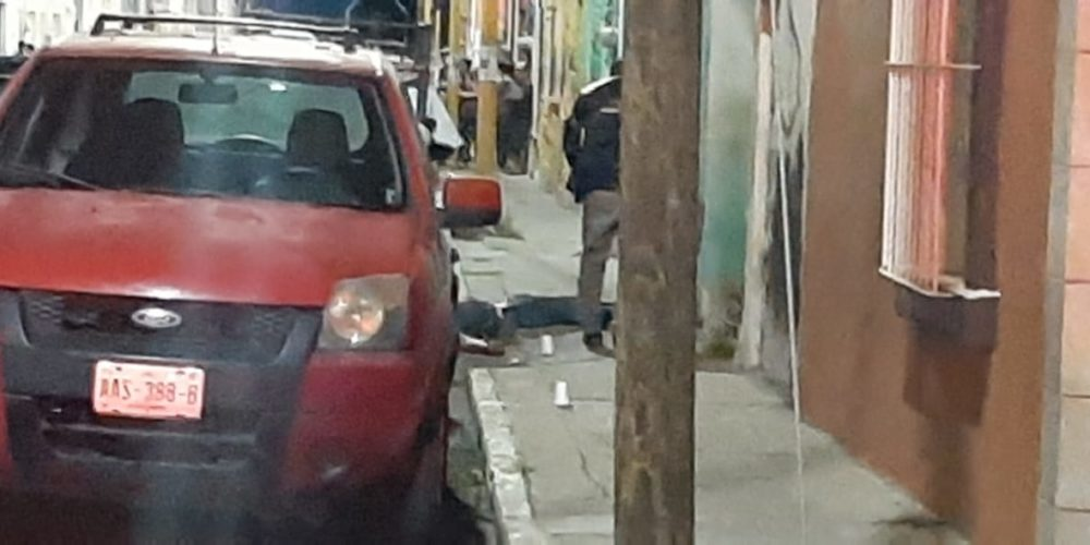 Ejecutan a un hombre en la zona centro de Aguascalientes