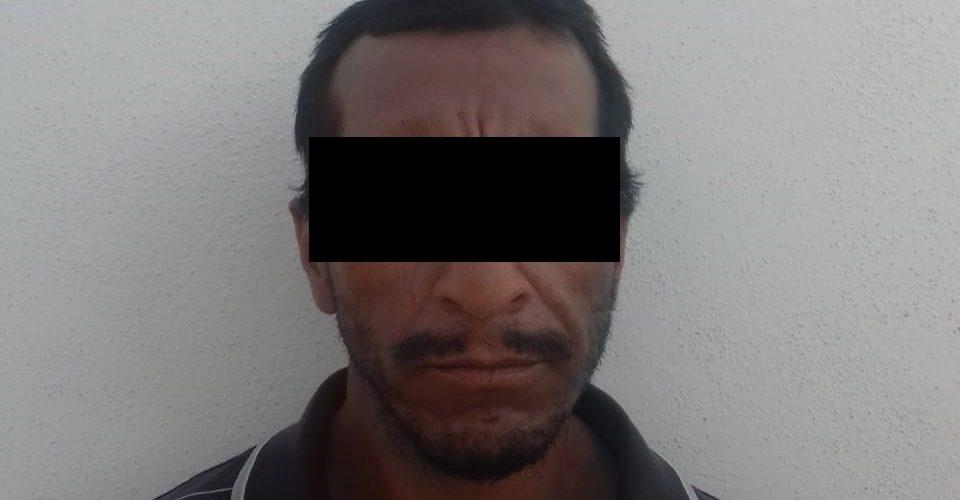 Sujeto que llevaba en su poder 5 envoltorios con droga crystal, fue detenido en el municipio de Tepezalá