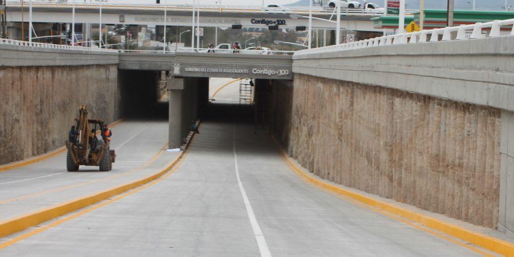Cerrarán paso a desnivel de Av. Adolfo Ruiz Cortines