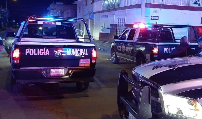 Balacera en Zacatecas deja 1 muerto y 2 heridos.  Malandros huyeron a Aguascalientes