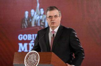 México tendrá vacuna contra el Covid-19 en diciembre: Ebrard