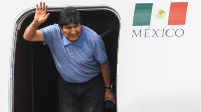 Se gastaron casi 2 mdp para traer a Evo Morales de Bolivia