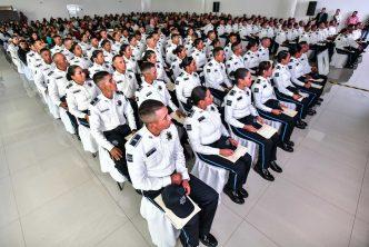 Se gradúan 91 nuevos policía municipales