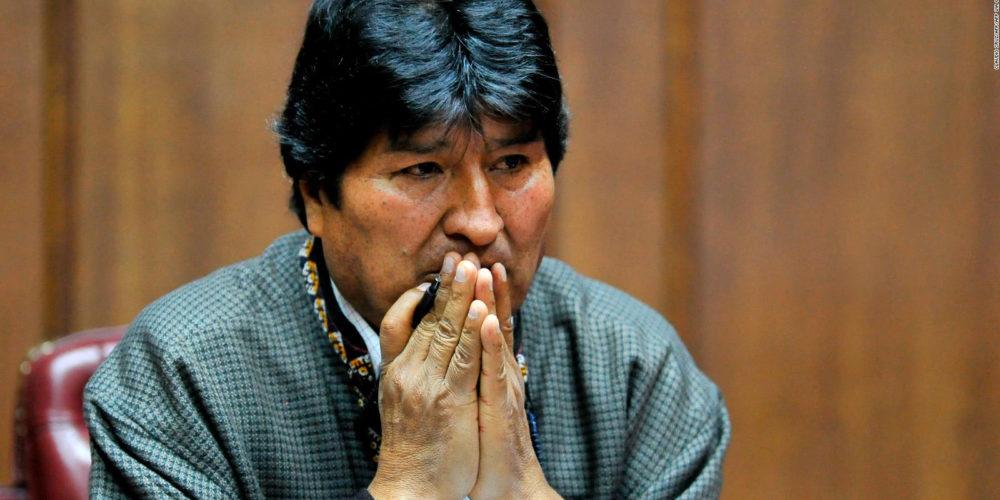 La Fiscalía de Bolivia dicta orden de detención contra Evo Morales