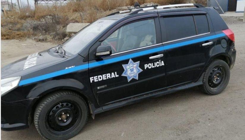 Aseguran patrulla de la Policía Federal de México en Rusia