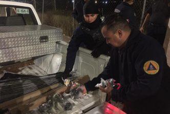 Protección Civil municipal ha decomisado 380 kilogramos de pirotecnia