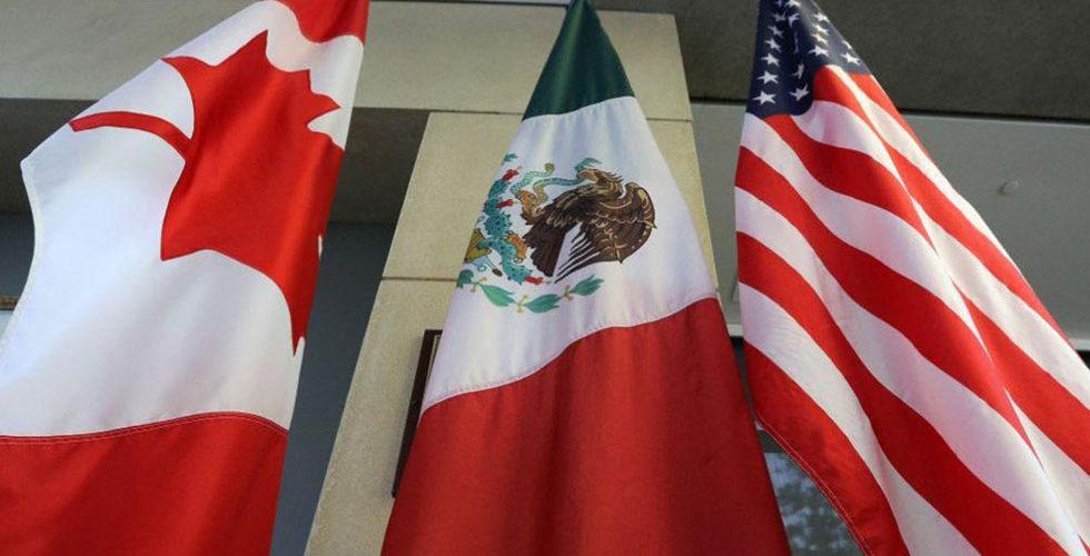 México, EU y Canadá firman cambios al T-MEC en Palacio Nacional