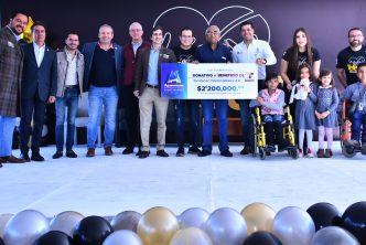 Municipio de Aguascalientes apoya labor del Teletón