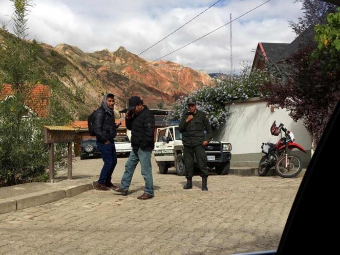 Tras queja, baja la vigilancia en embajada de México en Bolivia