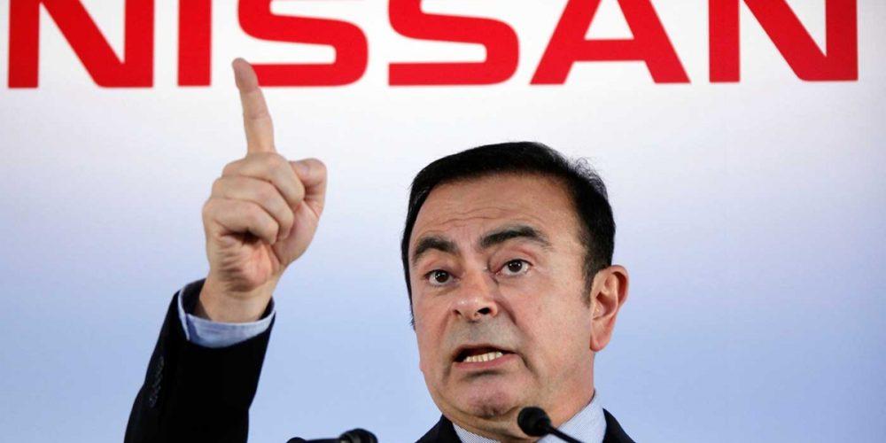 Expresidente de Nissan aparece en Líbano tras huir de Japón