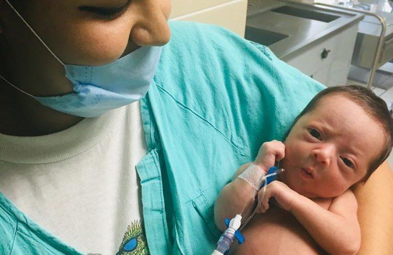 Operan con éxito a bebé recién nacido en Aguascalientes