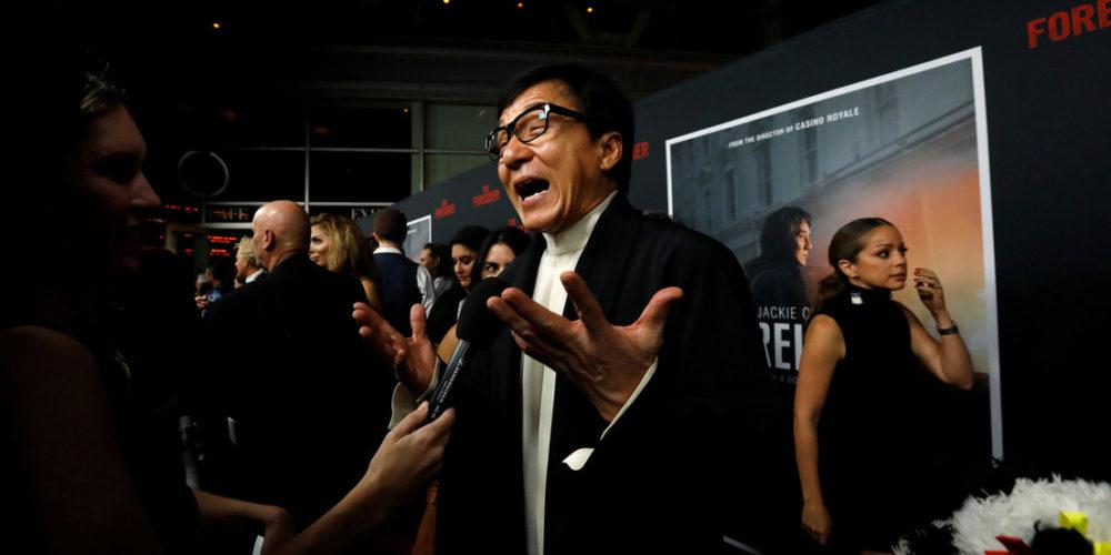Jackie Chan casi muere ahogado en el rodaje de su nueva película de acción