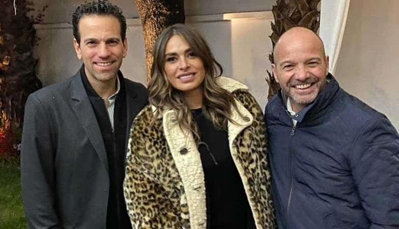 Cocinan proyecto Luis García, Galilea Montijo y Carlos Loret de Mola