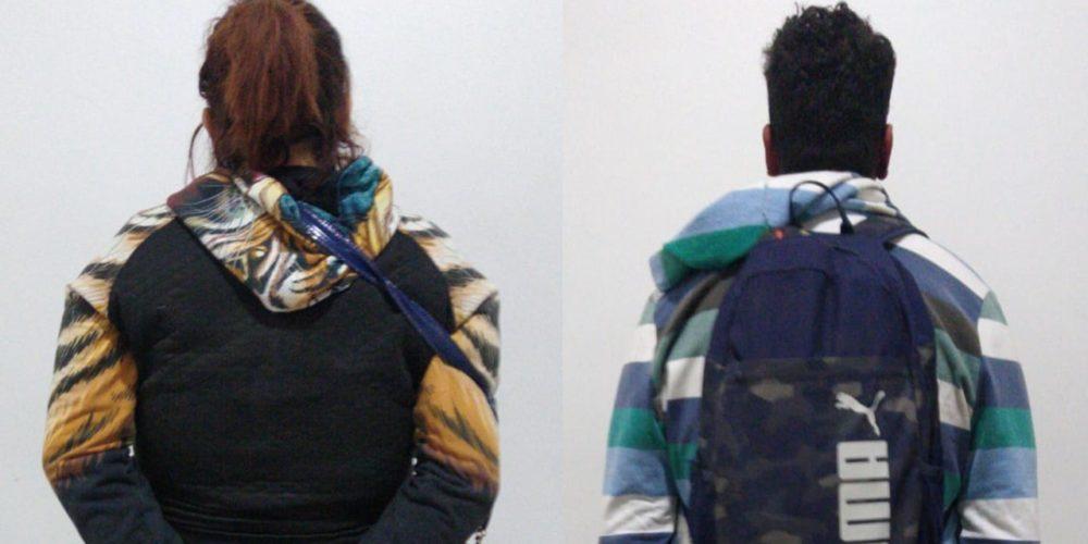 Detienen a pareja de rateros en Aguascalientes