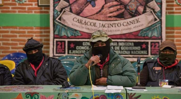 """Zapatistas llaman a gobierno de Obrador """"Cuarta Aniquilación"""""""