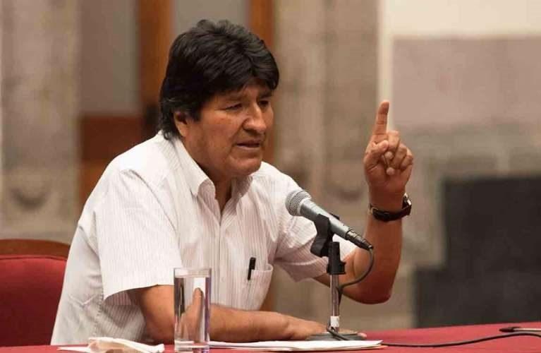 Evo Morales lamenta insultos en contra de AMLO por parte de Jorge Quiroga