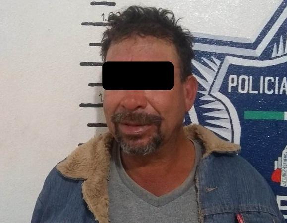 Detienen a cobarde sujeto que golpeó a dos mujeres en una riña en Aguascalientes