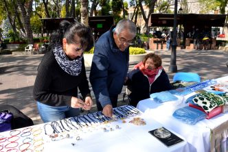 DIF municipal realiza expo de productos hechos por discapacitados