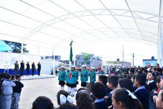 Municipio entrega obras en la primaria Humberto Ramírez Díaz