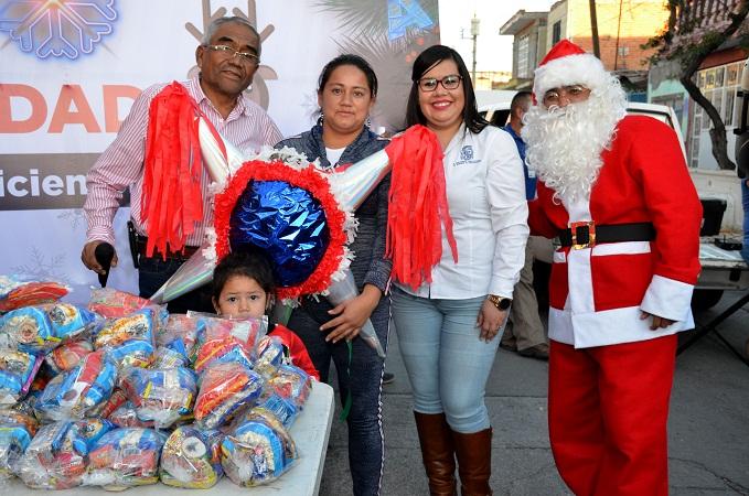 Inicia gira navideña del DIF Municipal de Aguascalientes en delegaciones