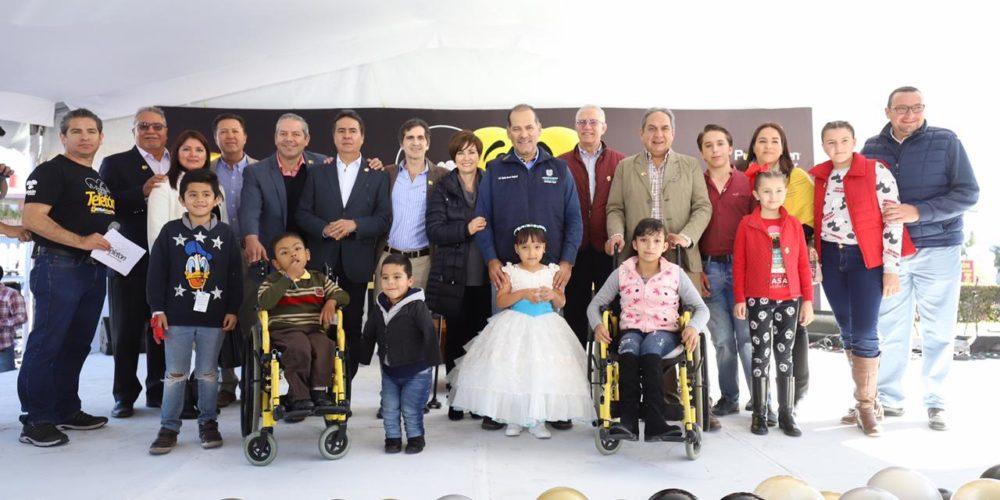 Gobierno dona 20 mdp al Teletón en Aguascalientes