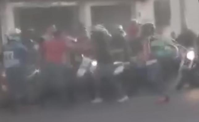Farrukos agreden a automovilista en Aguascalientes