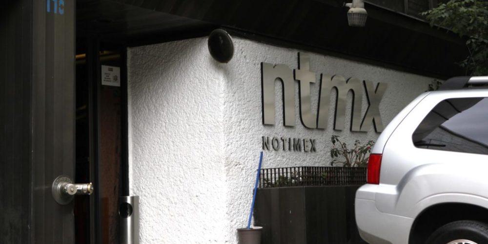 Fachada de las Instlaciones de Notimex, en la calle de Morena. MŽxico, D.F. Eduardo Miranda / procesofoto / DF 7 Abril 2010