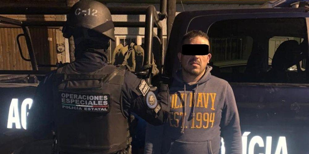 Detienen a Jorge Alberto con 17 envoltorios de crystal en Aguascalientes