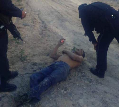 Rescatan a hombre que cayó de un cerro en Aguascalientes