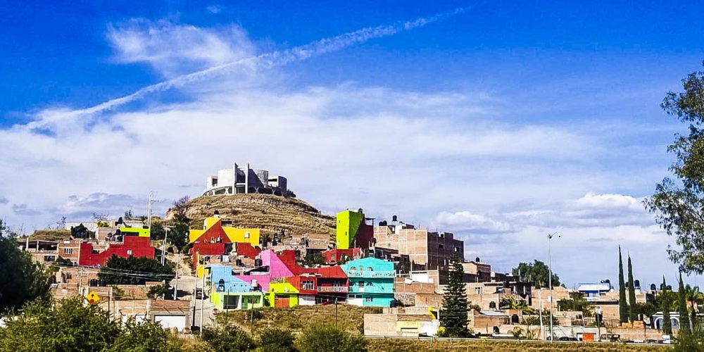 Con Mural Monumental regeneran la zona del Cerrito Alto en Calvillo