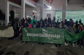 La Comunidad Feminista de Aguascalientes se une a la exigencia de justicia en Guanajuato