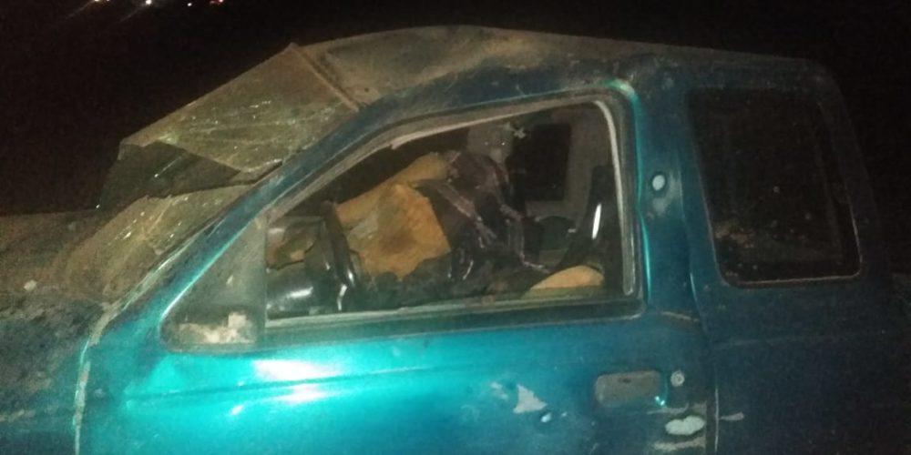 Volcó su auto y perdió la vida en Aguascalientes
