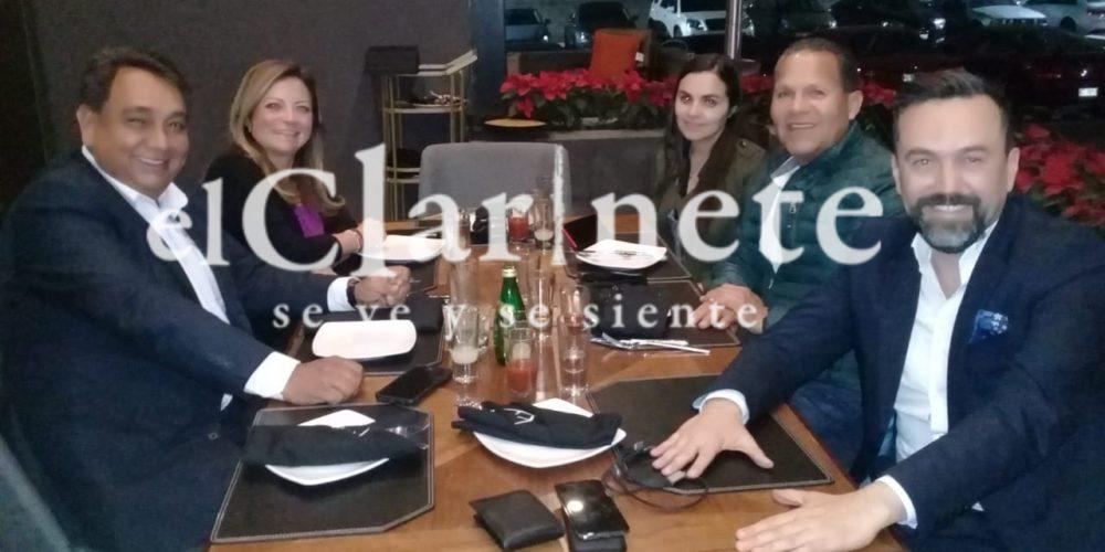 Arturo Avila se reunió en Aguascalientes con la hija de Elba Esther Gordillo, ¿buscará ser candidato por la RSP?