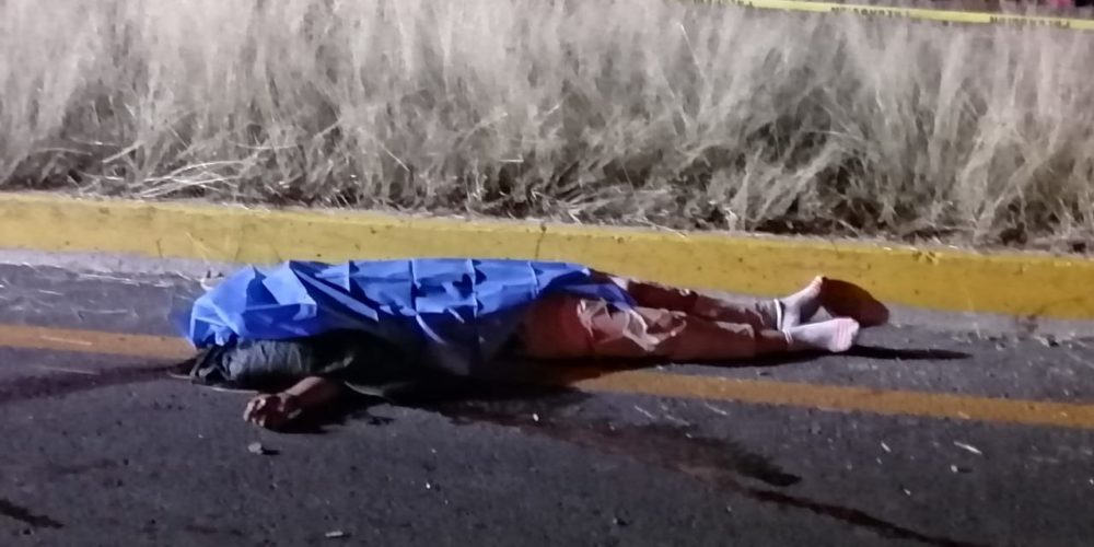 Atropellan y matan a mujer en Norias de Paso Hondo, Aguascalientes