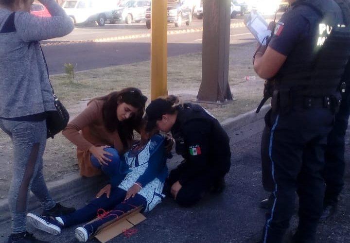 Arrollan a mujer en 3er Anillo en Aguascalientes