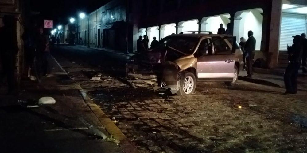 Accidente deja como saldo dos personas lesionadas en Calvillo