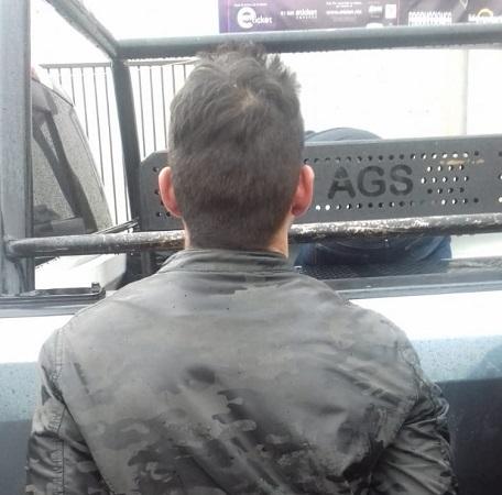 Arturo fue atrapado tras robar una casa en Aguascalientes