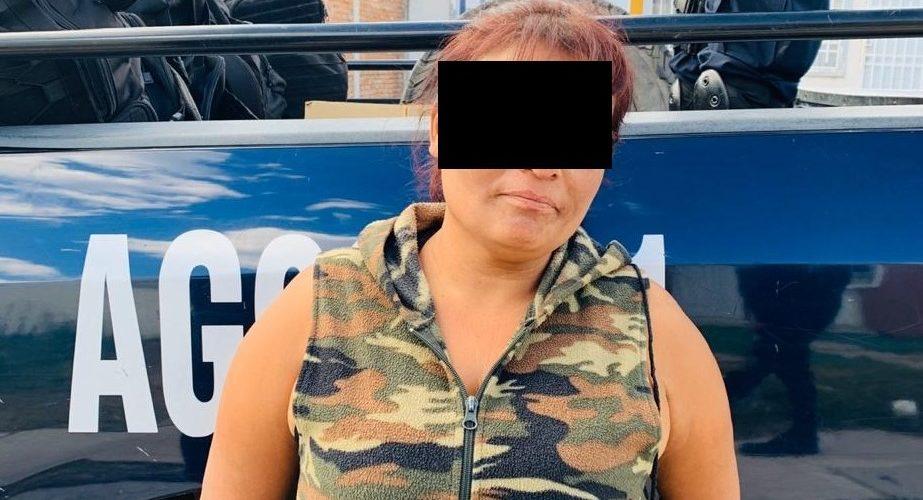 Mujer que portaba crystal fue detenida en Aguascalientes