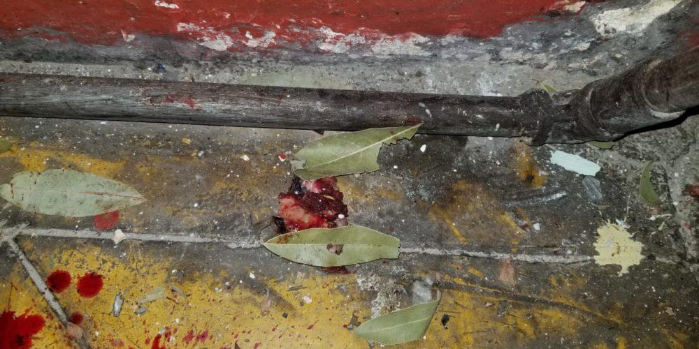 Sujeto pierde la mano tras estallarle dinamita en Aguascalientes
