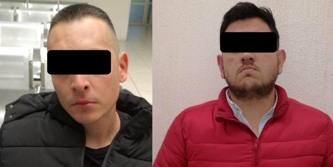 Detienen a dos personas por robo con violencia en Aguascalientes