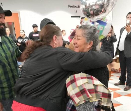 Después de más de 20 años, se reúnen aguascalentenses con familiares en Estados Unidos