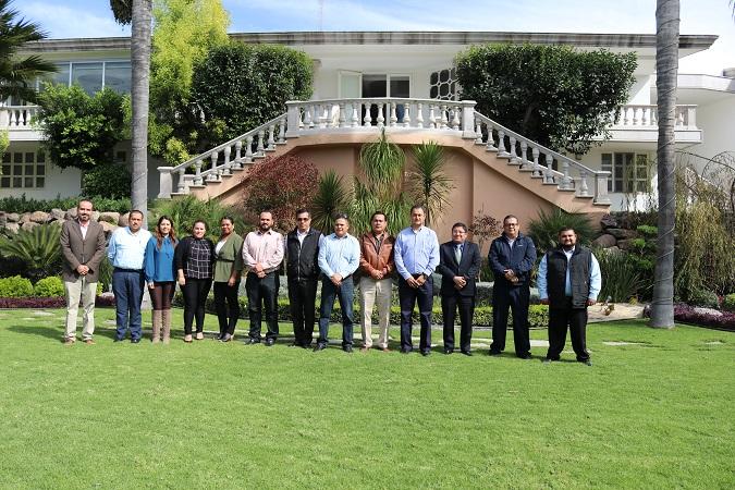 Se reúnen tesoreros estatal y municipales para definir estrategias de coordinación fiscal en Aguascalientes
